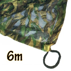 "Filet de camouflage ""ghost"" 3D translucide 6m"