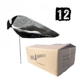 12 aéroblettes Pigeon mangeuses